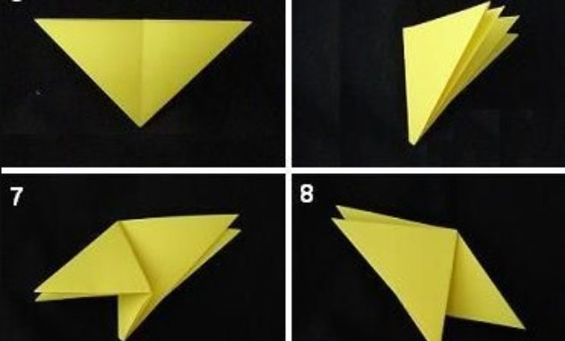 Origami mermaid folding instructions (With images) | Origami easy ... | 380x630