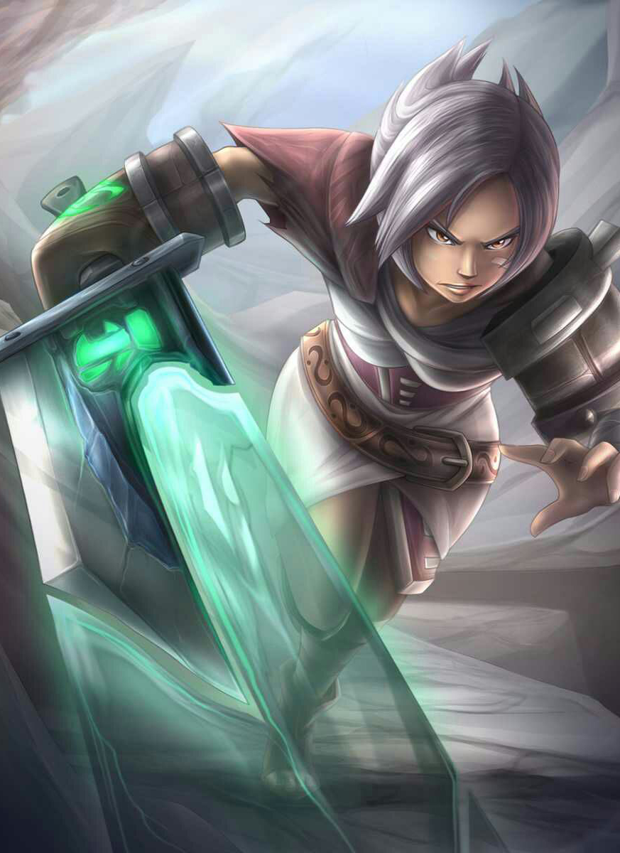 Lol Riven Wallpaper hd