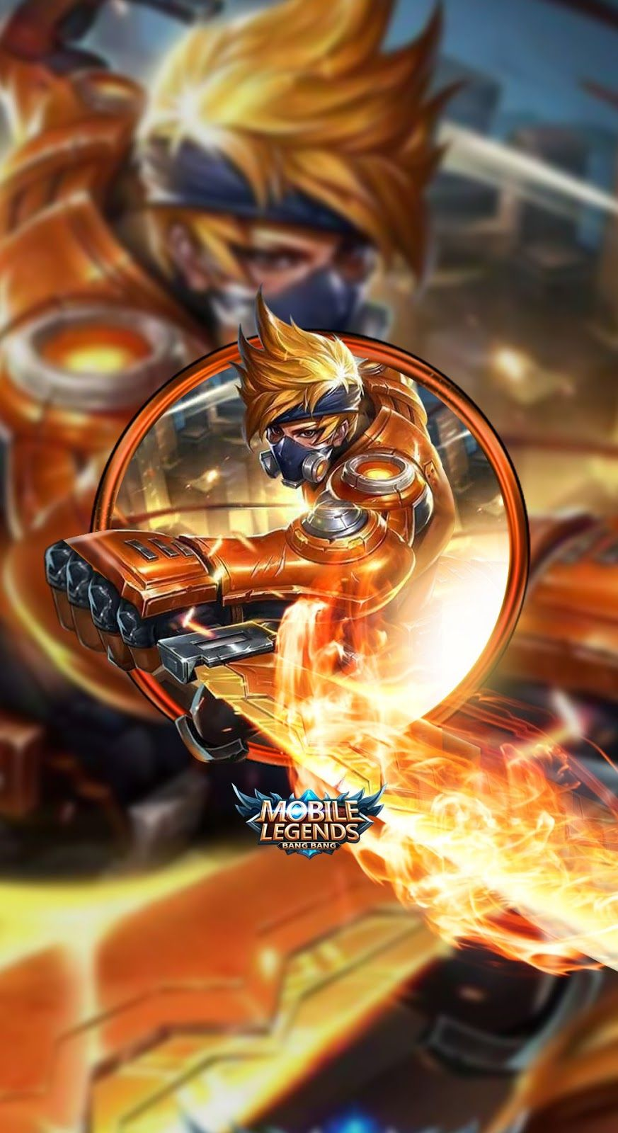 Wallpaper Hayabusa mobile legends