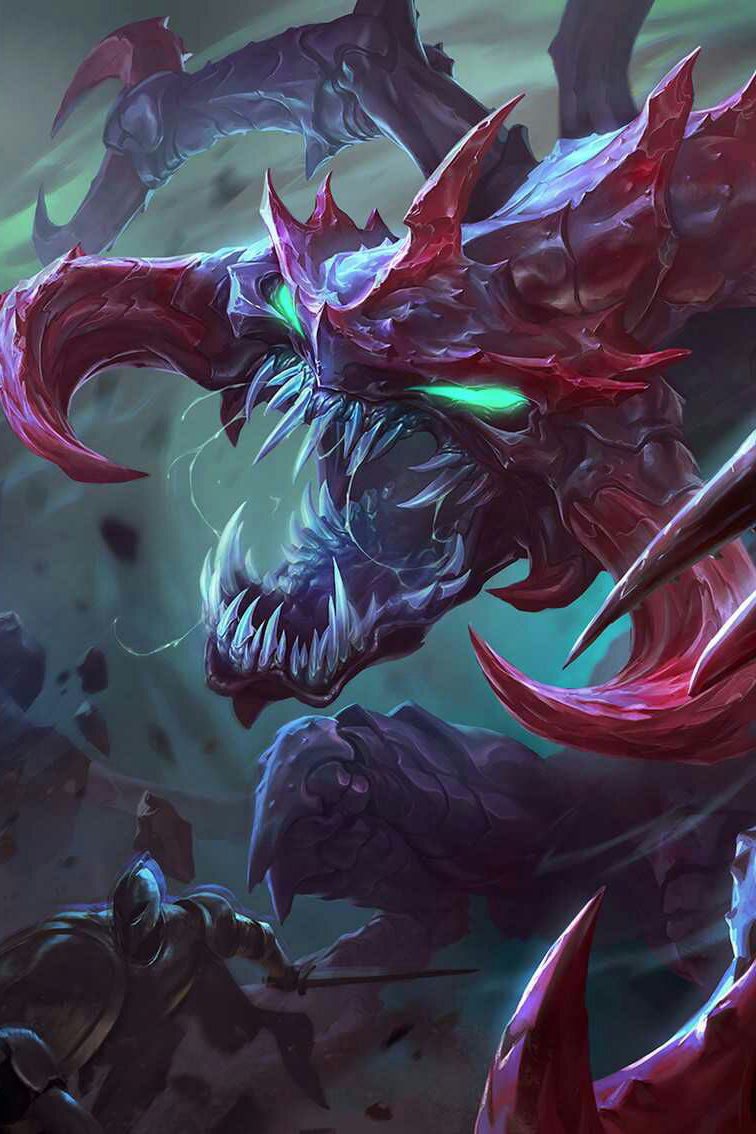 Cho'Gath HD Wallpaper
